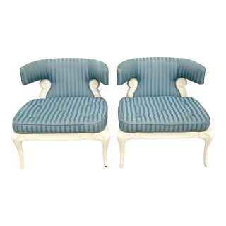 Grosfeld House Slipper Chairs - A Pair