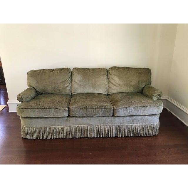 Textile Edward Ferrell Ltd. Traditional Sofa For Sale - Image 7 of 7