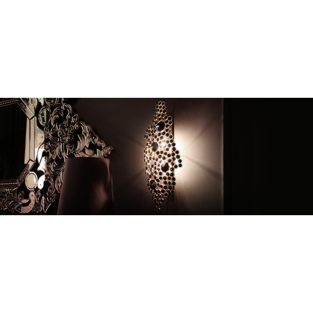 Black Eternity Sconce From Covet Paris For Sale - Image 8 of 13