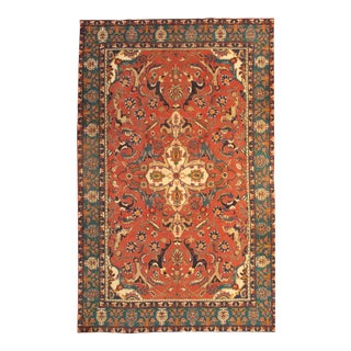 "Pasargad Antique Persian Tabriz Lamb's Wool Rug - 8'3"" X 10'11"" For Sale"