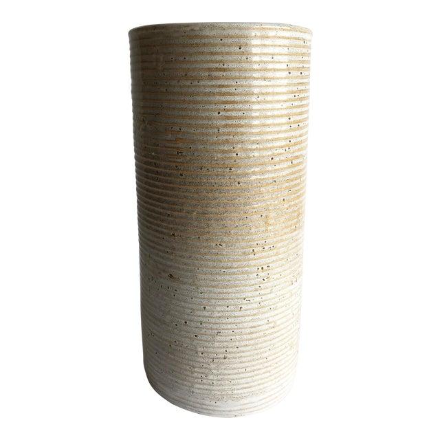 Ceramic Cylinder Vase - Image 1 of 4