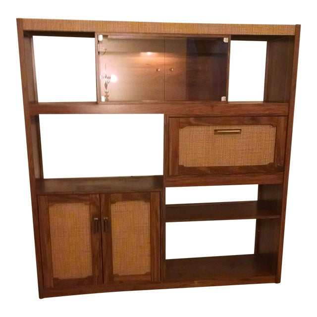 Mid-Century Modern Wall Unit - Image 6 of 6