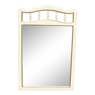 Vintage French Provincial Wall Mantle Mirror Made by Dixie For Sale