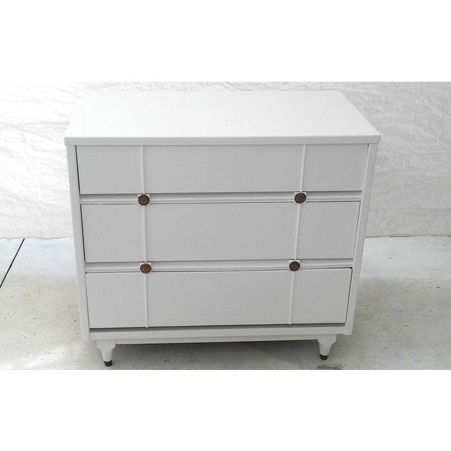 Kroehler Mid-Century White Lacquer Dresser - Image 2 of 10