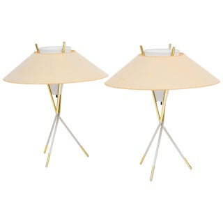 Gerald Thurston Table Lamps for Lightolier For Sale