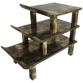 James Mont Pagoda Step Table For Sale