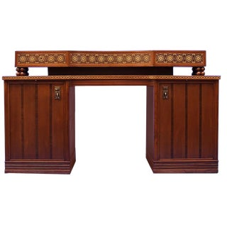 Jugendstil Desk after Olbrich For Sale