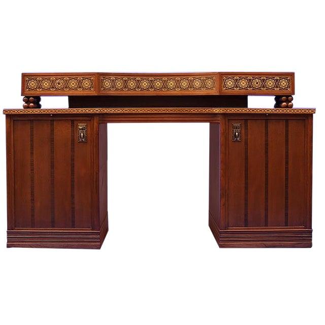 Jugendstil Desk after Olbrich For Sale