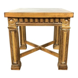 Drexel Wood Square Top End Table