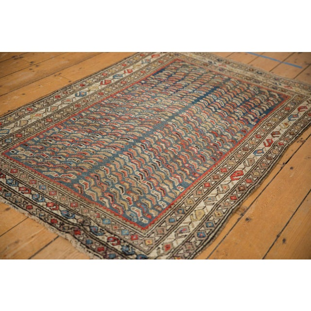 """Old New House Vintage Caucasian Rug - 3'7"""" X 5'8"""" For Sale - Image 4 of 12"""