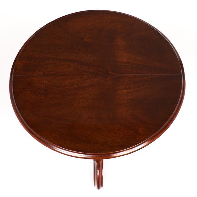 Walnut Antique Faux Louis Philippe Side Tables - A Pair For Sale - Image 7 of 10