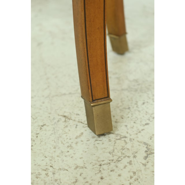 2000 - 2009 Maitland Smith Satinwood Adam Style Vanity Table For Sale - Image 5 of 12
