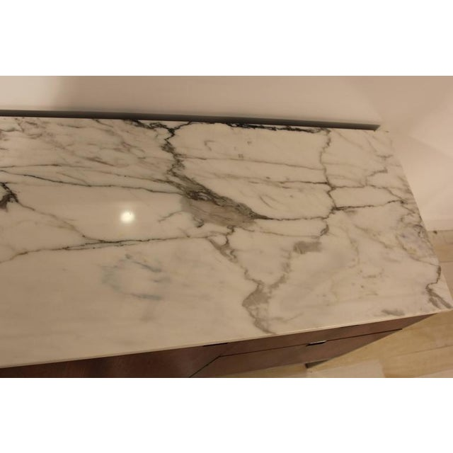 Knoll Rosewood Marble-Top Credenza - Image 8 of 9