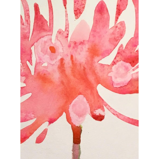 """Burst"" Original Watercolor Painting - Image 2 of 2"