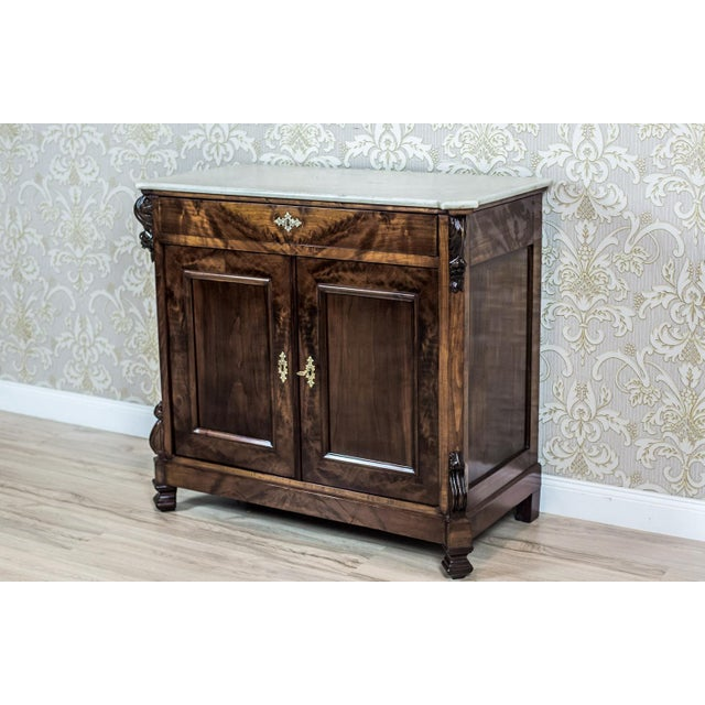 19th Century Louis Philippe Cabinet For Sale - Image 6 of 13