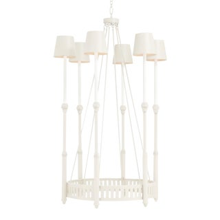 Georgie Chandelier, White For Sale