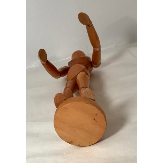 Mid 20th Century 20th Century Figurative Artist Model of Articulating Man For Sale - Image 5 of 11