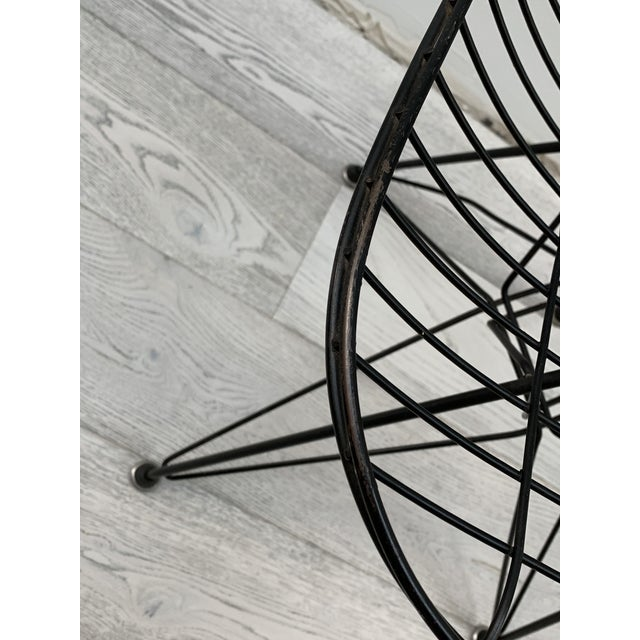 Herman Miller Mid Century Modern Eames Herman Miller Wire Chair For Sale - Image 4 of 11