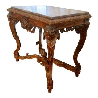 19th Century Italian Console From the Vassar Collection For Sale