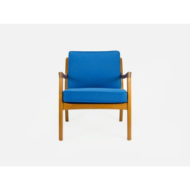Danish Modern Ole Wanscher for France & Son 'Senator' Armchair For Sale - Image 3 of 13