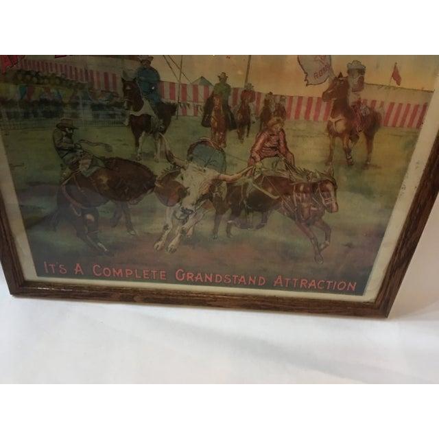 Original Rio Grande Rodeo Wild West Poster - Image 6 of 7