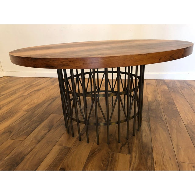 Mid-Century Modern Milo Baughman Thayer Coggin Rosewood Entry Table For Sale - Image 3 of 9