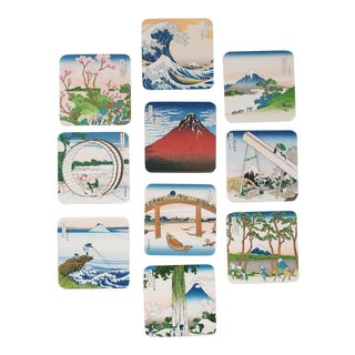 Hokusai Collectible Coasters - Set of 10