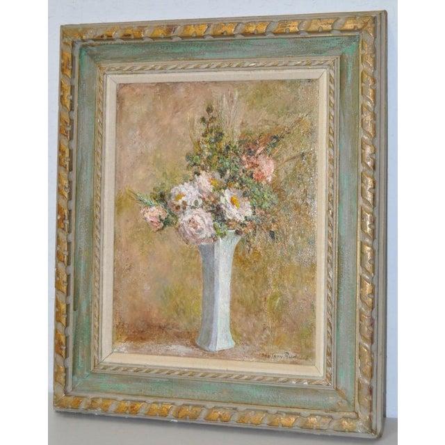 Troy Ruddick Vintage Floral Still Life Painting, C.1965 - Image 3 of 7