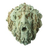 Image of Bacchus Garden Wall Sculpture For Sale