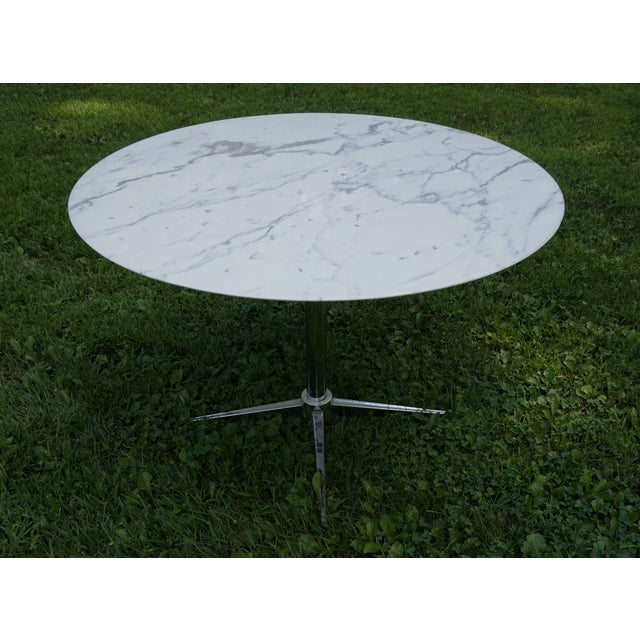 Florence Knoll Marble Table - Image 8 of 8