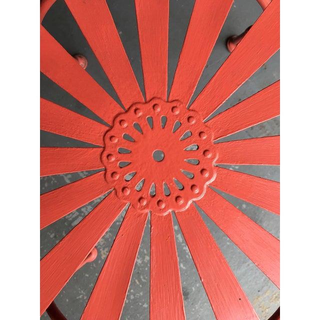 Francois Carré Sunburst Patio Furniture For Sale In Chicago - Image 6 of 13