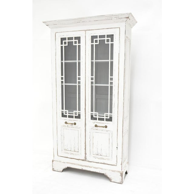 Estimated Retail Price: $5,670.00. Our Kentucky Bourbon Cabinet features full length doors that have glass fronts with...