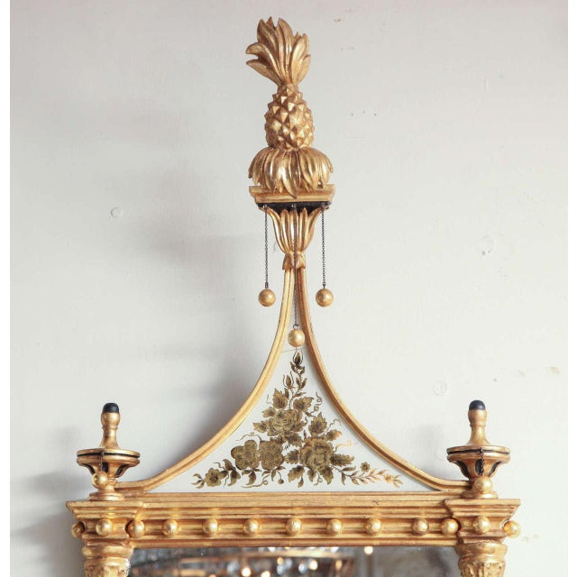 Pair of Federal Pier Mirrors For Sale - Image 9 of 10