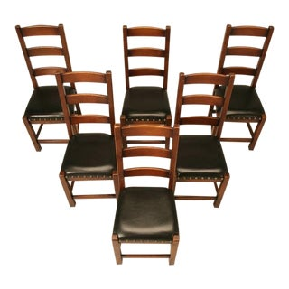 Ladderback Side Chairs- Set of 6 For Sale