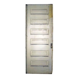 Horizontal Raised Panel Design Pocket Door