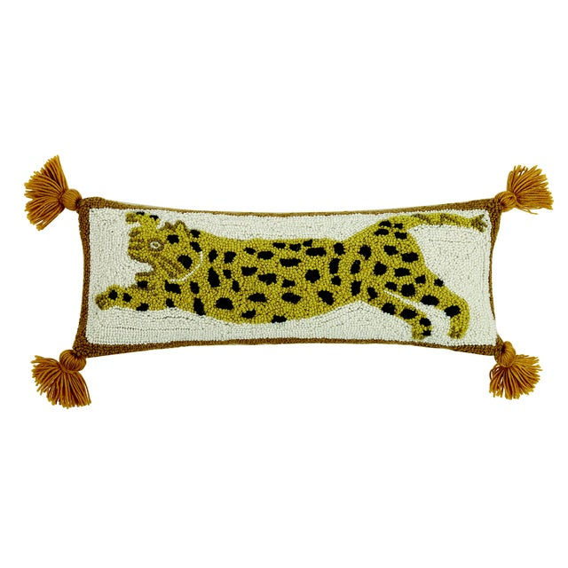 "Contemporary Chi Chi Hook Pillow, 8"" x 22"" For Sale - Image 3 of 3"