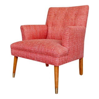 1950's Mid-Century Modern Club Chair For Sale