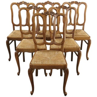 Dining Chairs Louis XV Rococo Vintage 1950 French For Sale