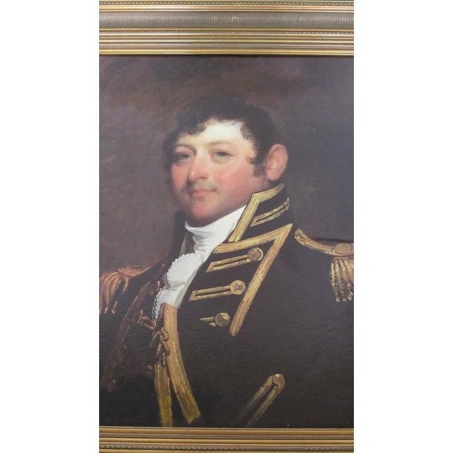 Revolutionary War Commodore Portrait - Image 3 of 10