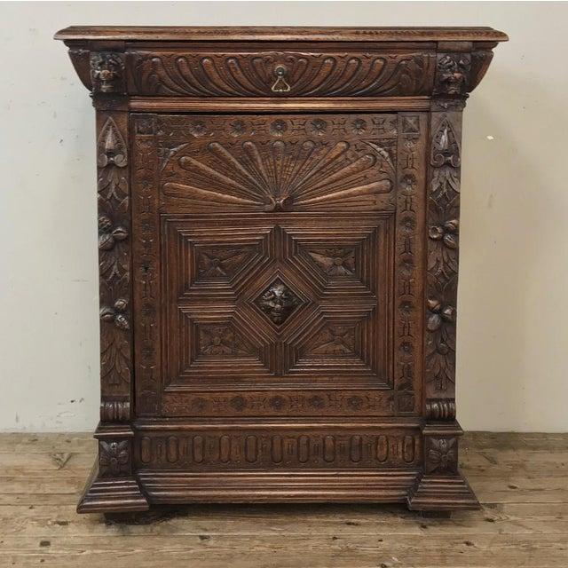 19th Century Flemish Renaissance Cabinet For Sale - Image 13 of 13