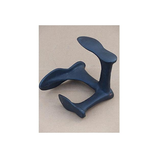 Black Antique Iron Cobbler's Tool For Sale - Image 8 of 8