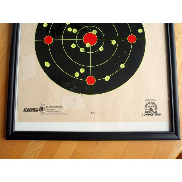Framed NRA Shooting Target - Image 8 of 11