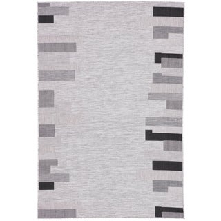 Nikki Chu by Jaipur Living Nikea Indoor/ Outdoor Geometric Area Rug - 7′11″ × 10′ For Sale