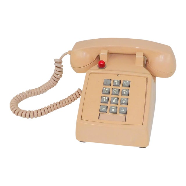 1980's Hotel Guest Touch Tone Telephone For Sale