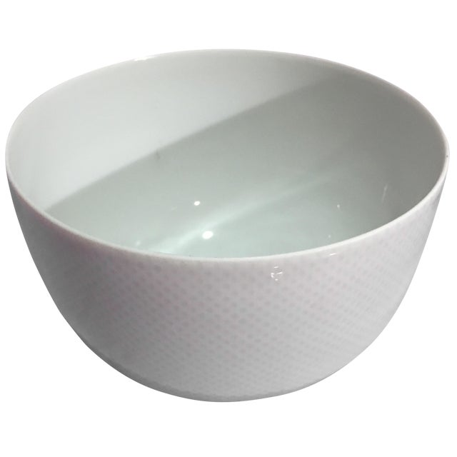 Rosenthal Studio White Footed Bowl - Image 1 of 7