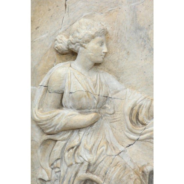 Neoclassical Plaster Panel For Sale - Image 4 of 9