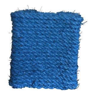 Blue Rope Tissue Box Cover For Sale