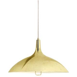 Brass Paavo Tynell '1965' Pendant Lamp