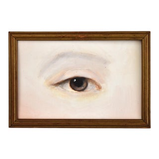 Contemporary Lover's Eye No. 2 Painting by S. Carson For Sale