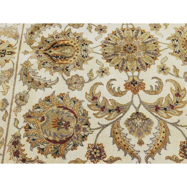 Persian Rug Los Angeles: Square Hand-Knotted Indo-Persian Rug - 6'x 6'